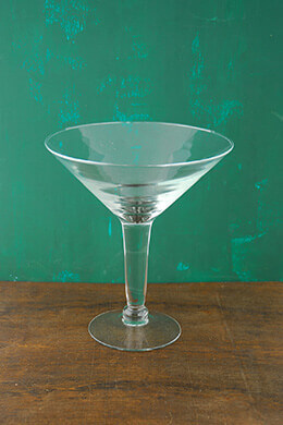 "Large 10"" Martini Glass Vase 48 Ounce"
