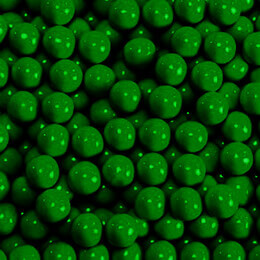 Dark Green Sixlets Favor Candy 14oz