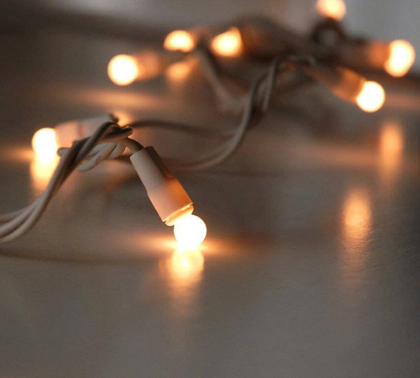 Globe String Lights White Cord : Pearl White Mini Globe String Lights 50ct