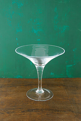Martini Glass Vase 8in
