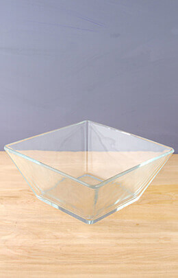 Tapered Square Bowl