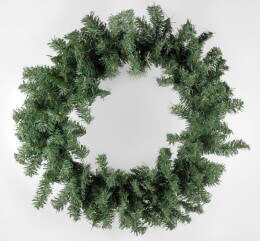 Artificial Pine Door Wreath Pine