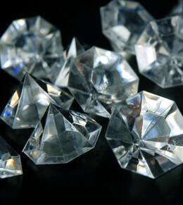 Acrylic Diamonds 1.5in|Pack of 16