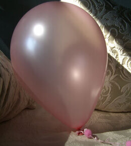 Pearlized Pink Helium Quality Balloons12in (Pack of 100)