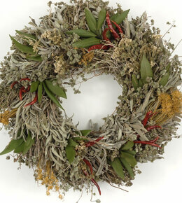 Herb Wreath 15in