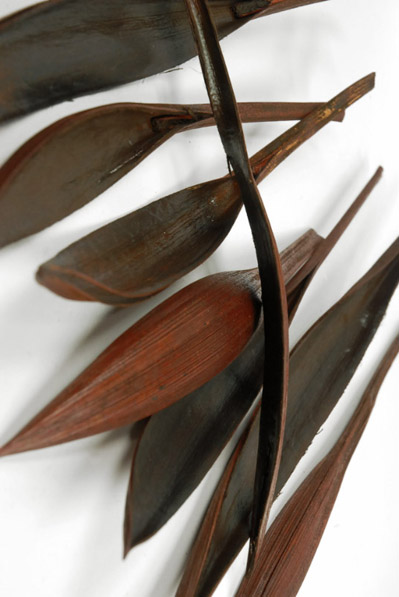 Palm Fronds Mahogany 13in (Pack of 20)