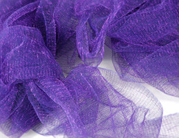 Metallic Purple Netting 32