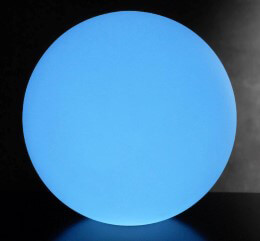 "20"" LED Orb Waterproof Floating Rainbow Orb with Remote"