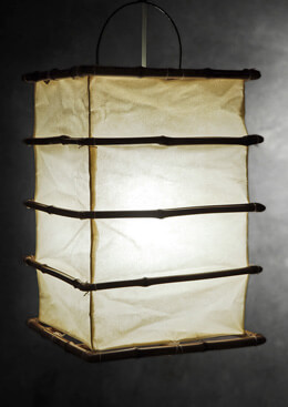 Bamboo and Cloth 11x15 Lanterns