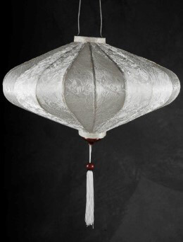 Saturn Silk Hanging Lantern