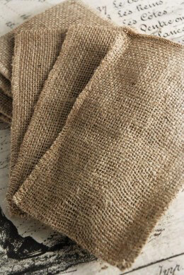 Burlap Bags with Finished Seams 12pk