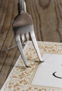 Fork Easel