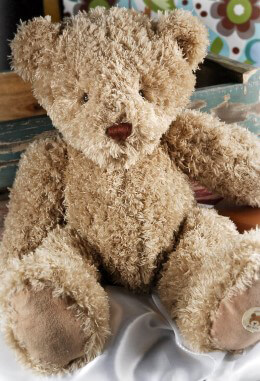 Moulin Roty Stuffed Toy Leopold Bear