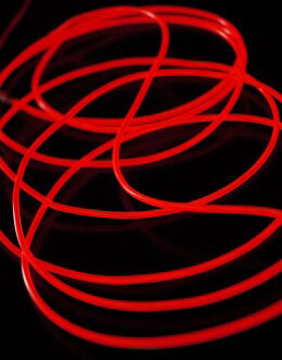 El Wire Lights Red | 2.6mm | 9 Ft