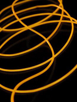 El Wire Lights Yellow | 2.6mm | 9 Ft
