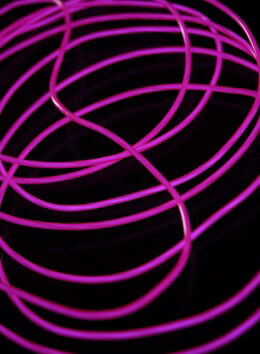 El Wire Lights Purple | 2.6mm | 12 Ft