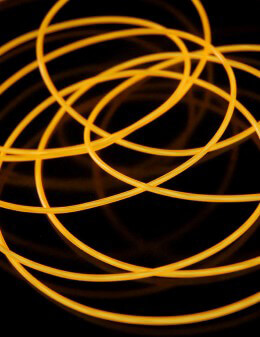 El Wire Lights Gold | 2.6mm | 12 Ft