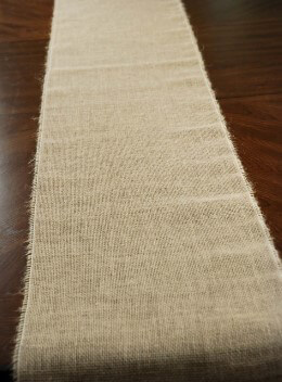 Burlap Table Runner 96in