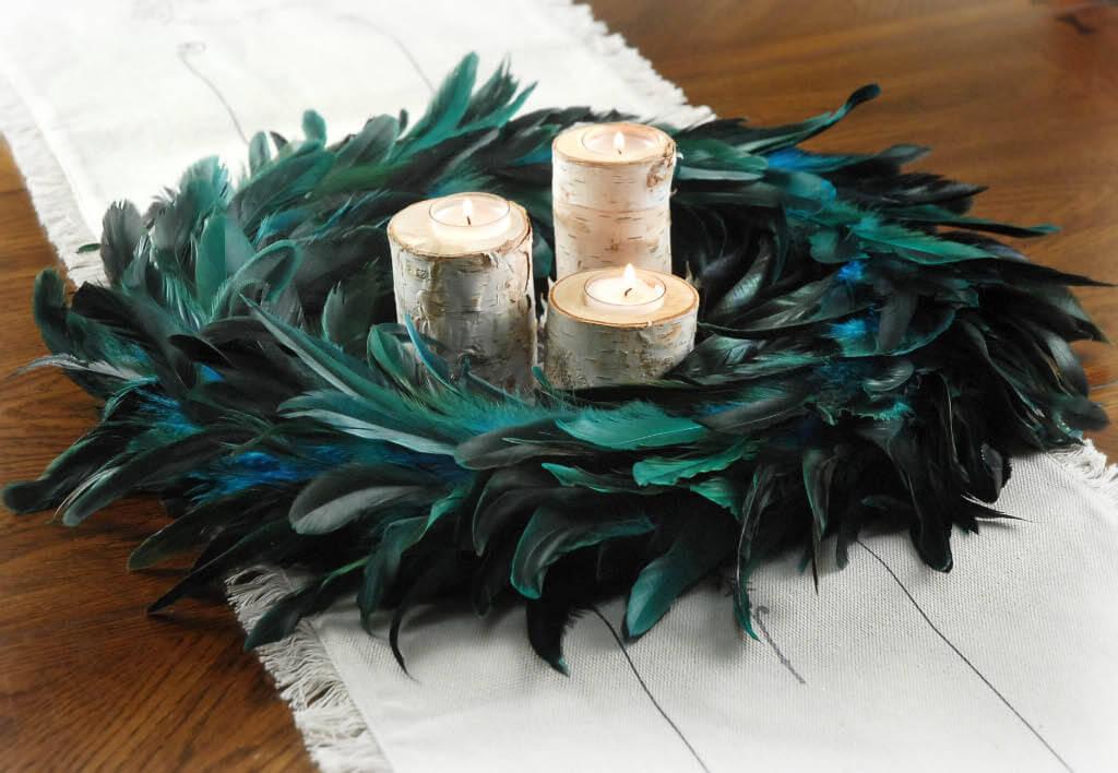 Wreaths swags herb braids