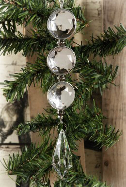 Crystal Rhinestone Ornament