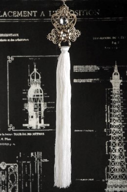 Filagree Tassel Ornament