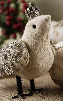 Crowned Linen Bird