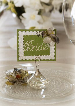 Diamond Place Card Holders Set of 4