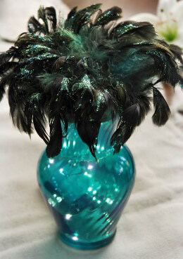 Peacock Feather Bird Nest