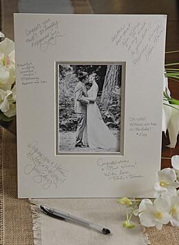 """Autograph Photo Mat 11"""" x 14"""""""
