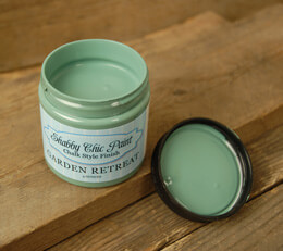 Shabby Chic Paint Chalk Style Finish - Garden Retreat 4 oz