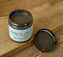 Shabby Chic Paint Chalk Style Finish - Midnight 4 oz