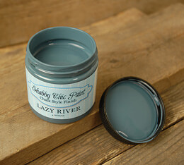 Shabby Chic Paint Chalk Style Finish - Lazy River 4 oz