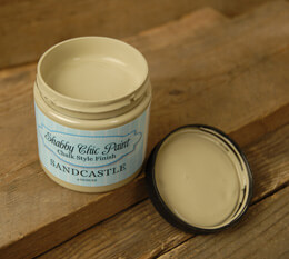 Shabby Chic Paint Chalk Style Finish - Sandcastle 4 oz