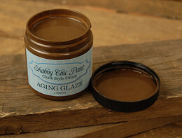 Shabby Chic Paint Chalk Style Finish Aging Glaze 4 oz