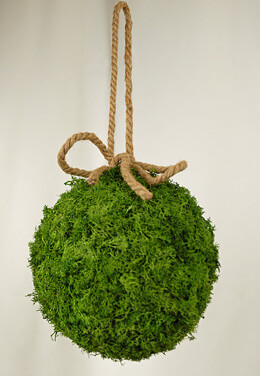 "Large 8"" Reindeer Moss Ball"