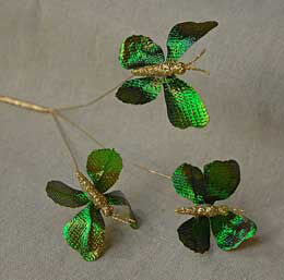 Butterfly Pick - Metallic Green 16in (pack of 12)