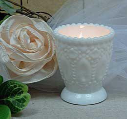 Heirloom Milk Glass Votive Holder (Pack of 6)