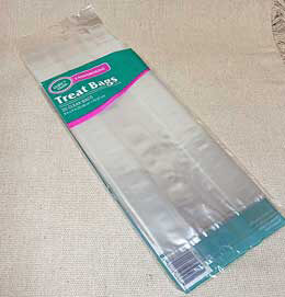 Clear Treat Bags 9in x 4in (Pack of 30)