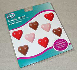 Mini Hearts Candy Mold