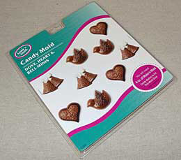 Candy Mold - Dove, Heart & Bell Mini