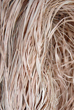 "Natural Raffia Hank  45-50"" /12 Ounces"
