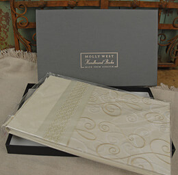 "Molly West ""Soul Mates"" Handbound Guest Book"