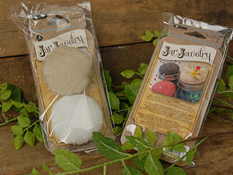Jar Jewelry Pin Cushion Muslin (Set of 6)