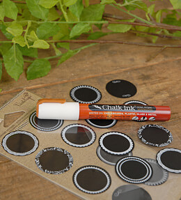 Jar Jewelry Round Chalkboard Stickers (Pack of 48)