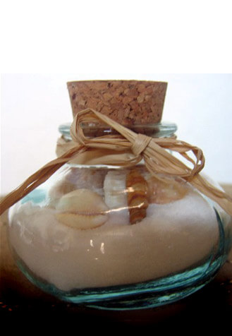 "24 Bean Jar 2"" Clear Glass Bottles with Corks"