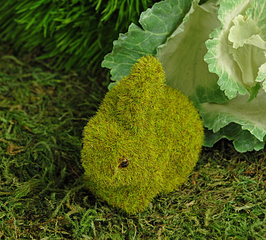 Moss Covered Bunny 3.5in