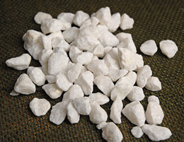 Natural White Cobble Stone Vase Filler 1lb