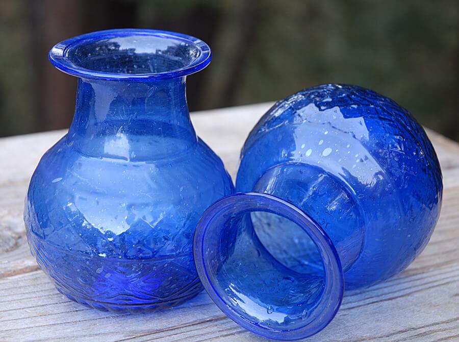 Cobalt Blue Glass Vase 5 Quot X 4 Quot