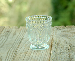 Heirloom Votive Candle Holders Clear 3in (Set of 6)