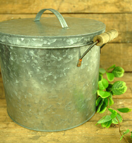 Metal Ice Bucket with Lid